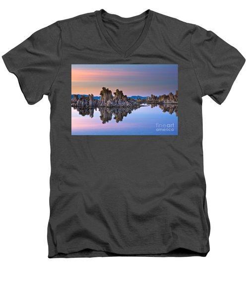 Mono Lake #2 Men's V-Neck T-Shirt
