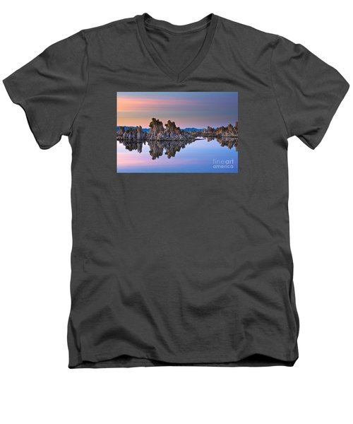 Mono Lake #2 Men's V-Neck T-Shirt