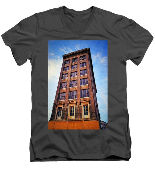 Monolithic Men's V-Neck T-Shirt