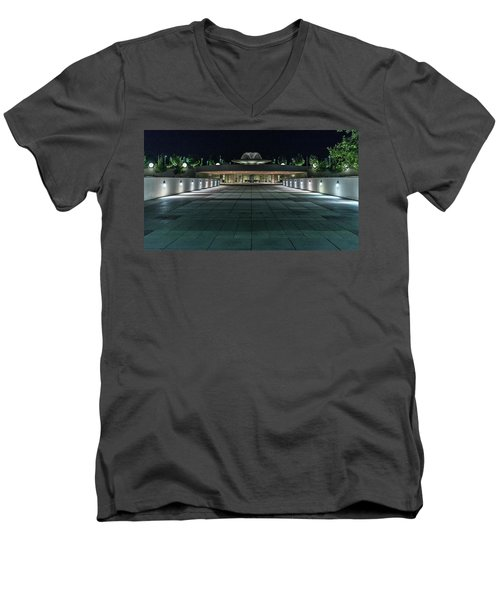 Monona Terrace Men's V-Neck T-Shirt