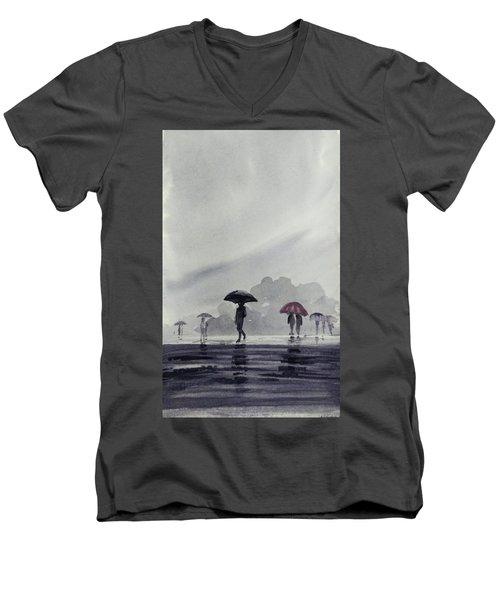 Monsoons Men's V-Neck T-Shirt
