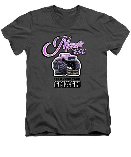 Monster Mash Men's V-Neck T-Shirt