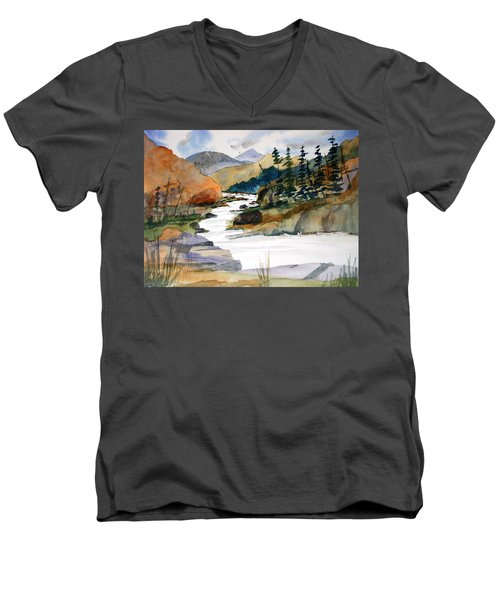 Montana Canyon Men's V-Neck T-Shirt