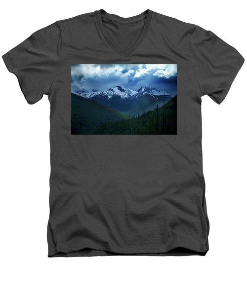 Montana Mountain Vista #2 Men's V-Neck T-Shirt