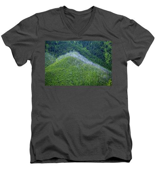 Montana Mountain Vista #4 Men's V-Neck T-Shirt