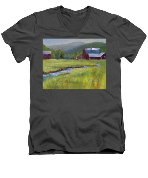 Montana Ranch Men's V-Neck T-Shirt