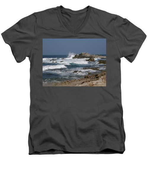 Monterey Coastline Men's V-Neck T-Shirt