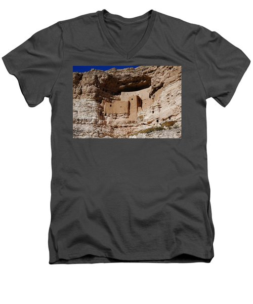 Montezuma Castle Men's V-Neck T-Shirt
