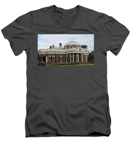 Monticello Men's V-Neck T-Shirt