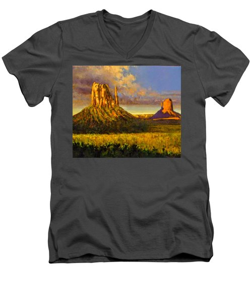 Monument Passage Men's V-Neck T-Shirt