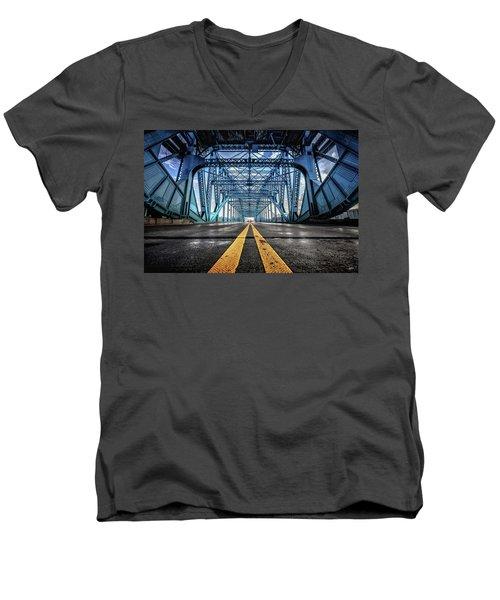 Monumental Market Street Men's V-Neck T-Shirt
