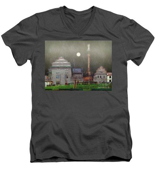 Monumental- Prague Men's V-Neck T-Shirt