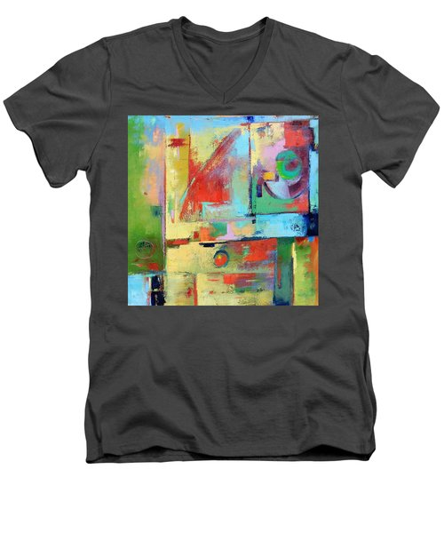 Mood Swing Men's V-Neck T-Shirt by Gary Coleman