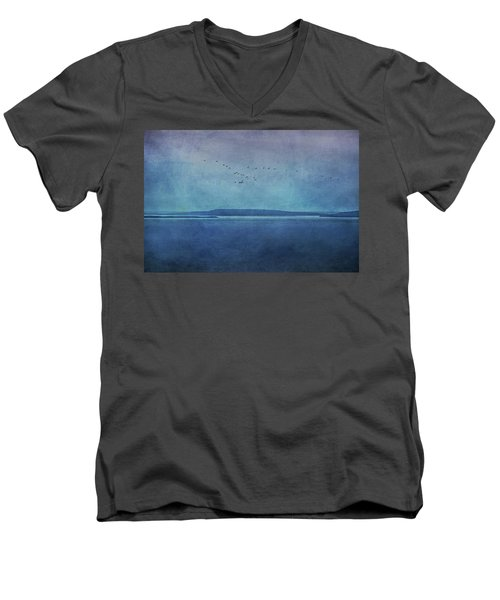 Moody  Blues - A Landscape Men's V-Neck T-Shirt