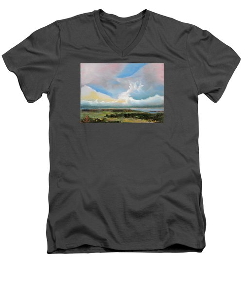 Moody Skies Men's V-Neck T-Shirt