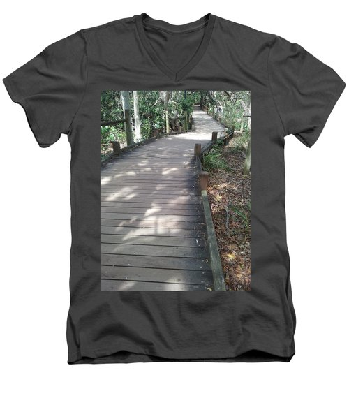 Mooloolaba Path Men's V-Neck T-Shirt