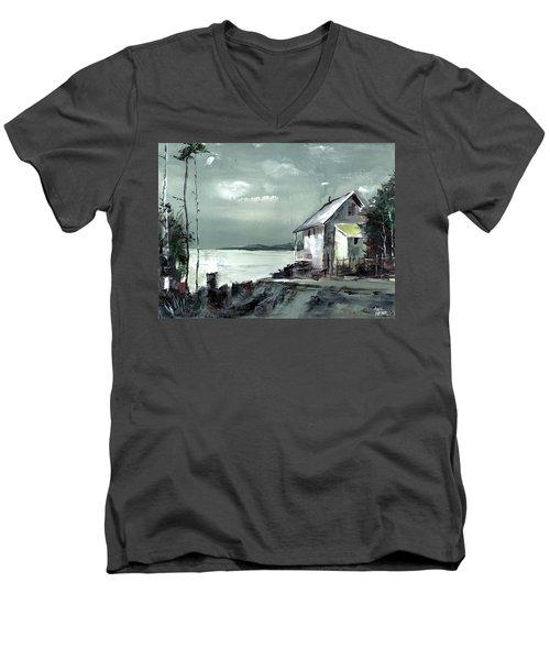 Moon Light Men's V-Neck T-Shirt