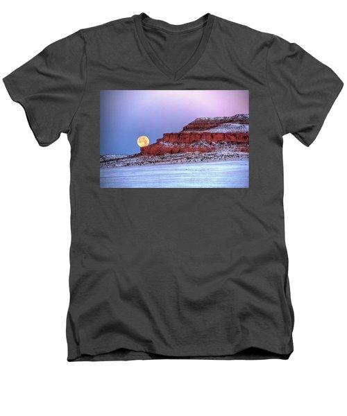 Moon Of The Popping Trees Men's V-Neck T-Shirt