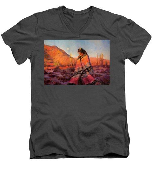 Moon Rising Men's V-Neck T-Shirt