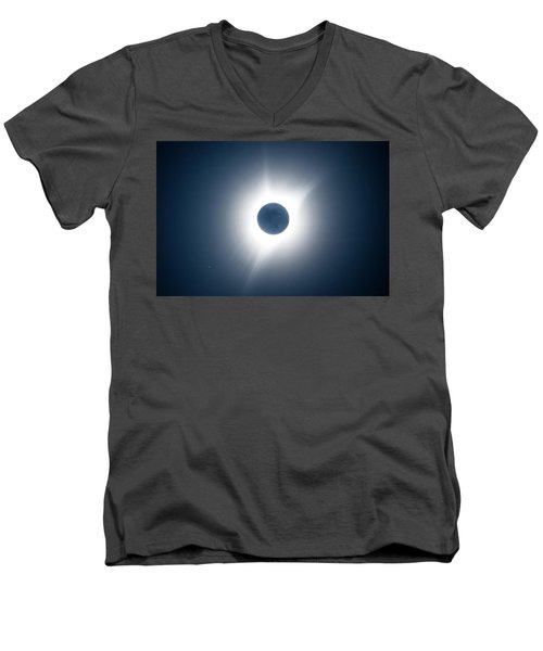 Moon Shadow Men's V-Neck T-Shirt