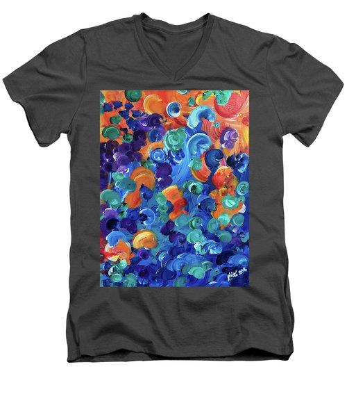 Moon Snails Back To School Men's V-Neck T-Shirt