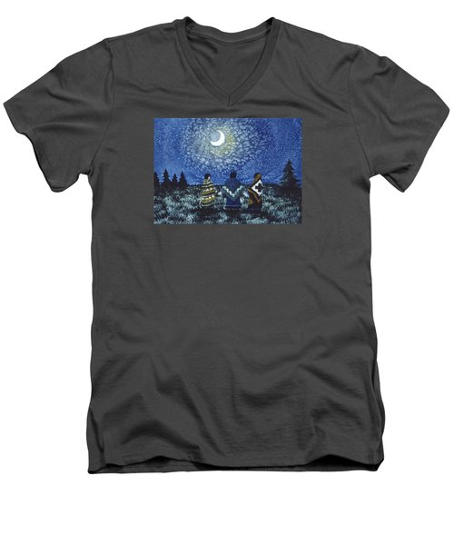 Moonlight Counsel Men's V-Neck T-Shirt