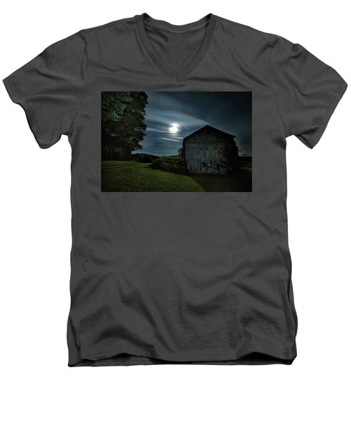 Moonlight Farm No. 2 Men's V-Neck T-Shirt