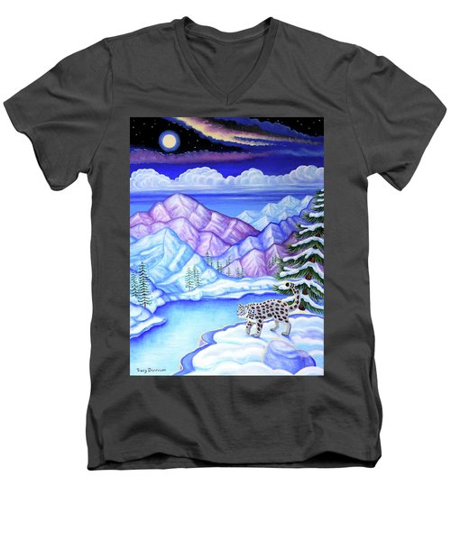 Moonlight Magic Men's V-Neck T-Shirt