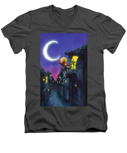 Moonthief Men's V-Neck T-Shirt