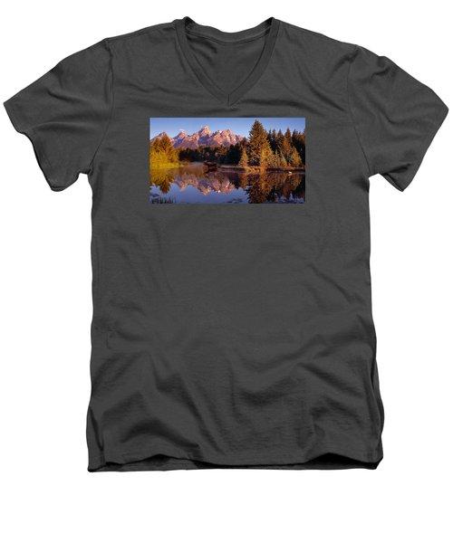 Moose Tetons Men's V-Neck T-Shirt
