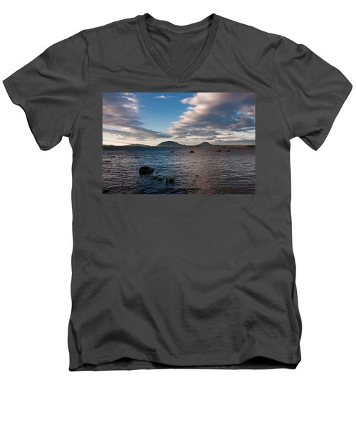 Moosehead Lake Spencer Bay Men's V-Neck T-Shirt