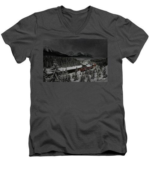Morant's Curve At Night Men's V-Neck T-Shirt