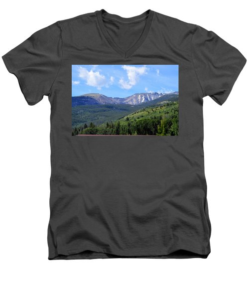 More Montana Mountains Men's V-Neck T-Shirt