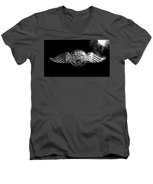 Morgan Nameplate Men's V-Neck T-Shirt