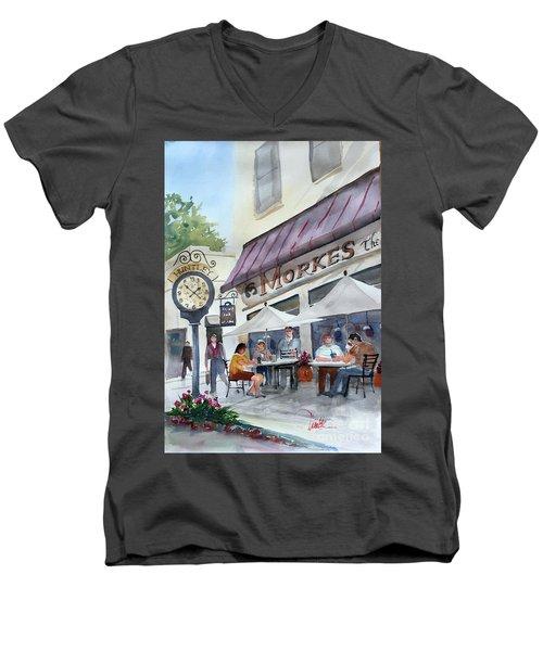 Morkes Spring Men's V-Neck T-Shirt