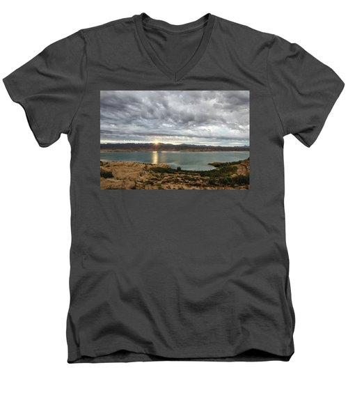 Morning After The Storm Men's V-Neck T-Shirt