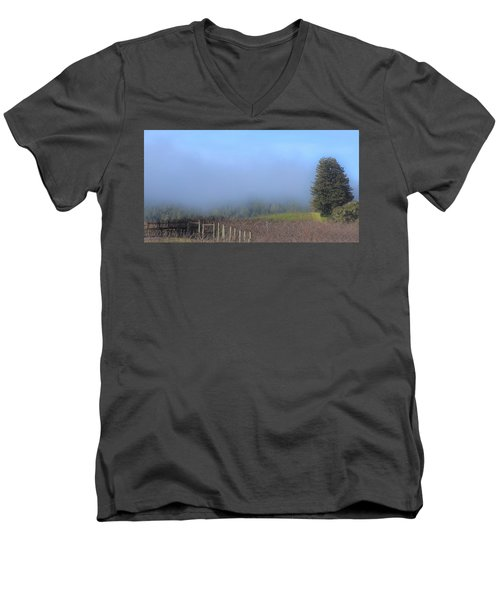 Morning At The Vinyard Men's V-Neck T-Shirt