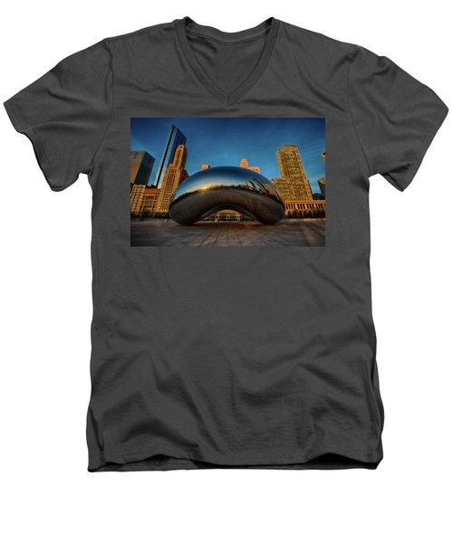 Morning Bean Men's V-Neck T-Shirt