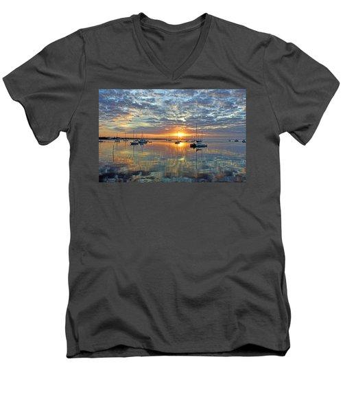 Morning Bliss Men's V-Neck T-Shirt