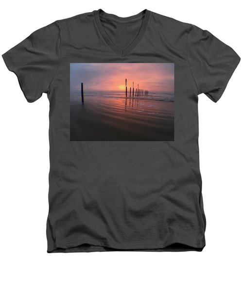 Morning Bliss Men's V-Neck T-Shirt