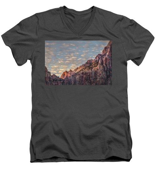 Morning Clouds Men's V-Neck T-Shirt