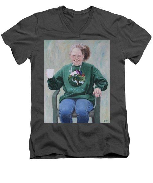 Morning Cuppa Men's V-Neck T-Shirt
