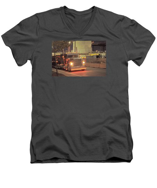 Morning Delivery Men's V-Neck T-Shirt