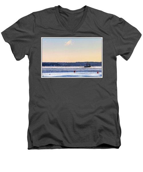 Morning Ferry Men's V-Neck T-Shirt