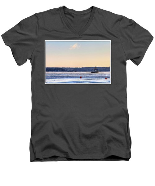 Morning Ferry Men's V-Neck T-Shirt