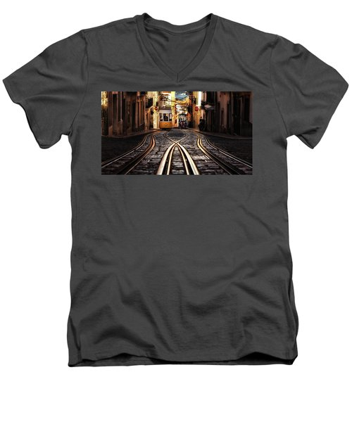 Morning Light Men's V-Neck T-Shirt