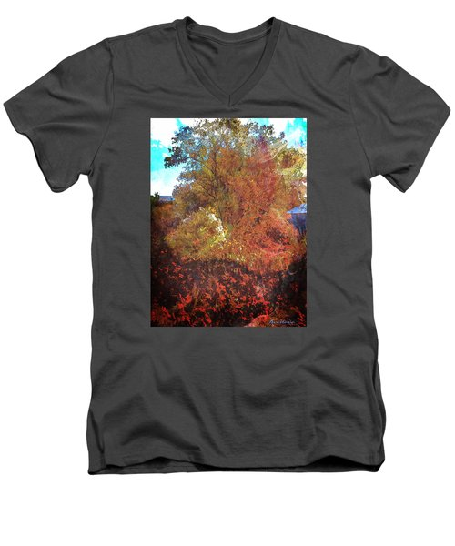 Morning Medely Men's V-Neck T-Shirt by Anastasia Savage Ealy