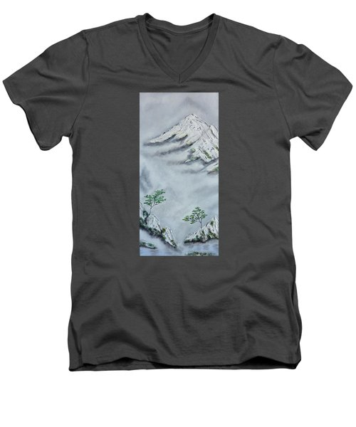 Morning Mist 2 Men's V-Neck T-Shirt