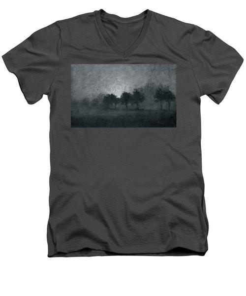 Morning Mist 3 Men's V-Neck T-Shirt