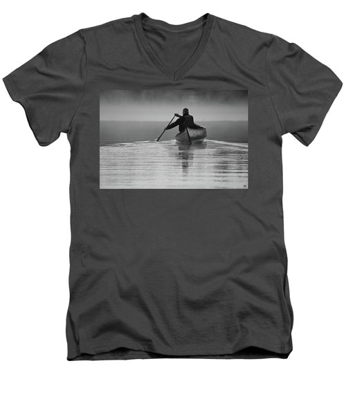 Morning Paddle Men's V-Neck T-Shirt